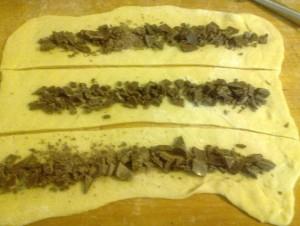 Pan brioche al cioccolato 9