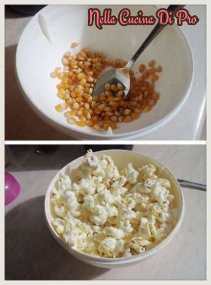 Pop Corn Al Microonde