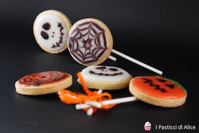 Halloween Glazed Biscuits