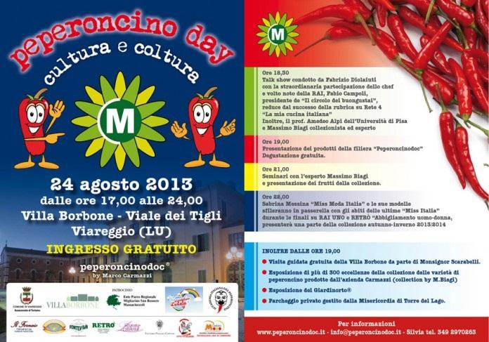 Peperoncino Day Cultura e Coltura