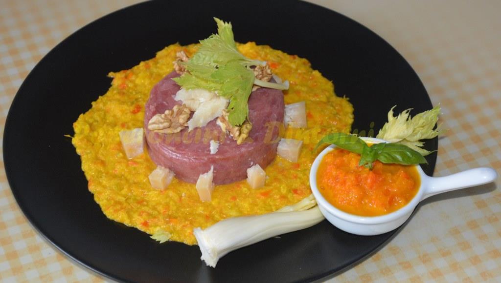 Tartar Di Chianina Salsa di Sedano & crema aji
