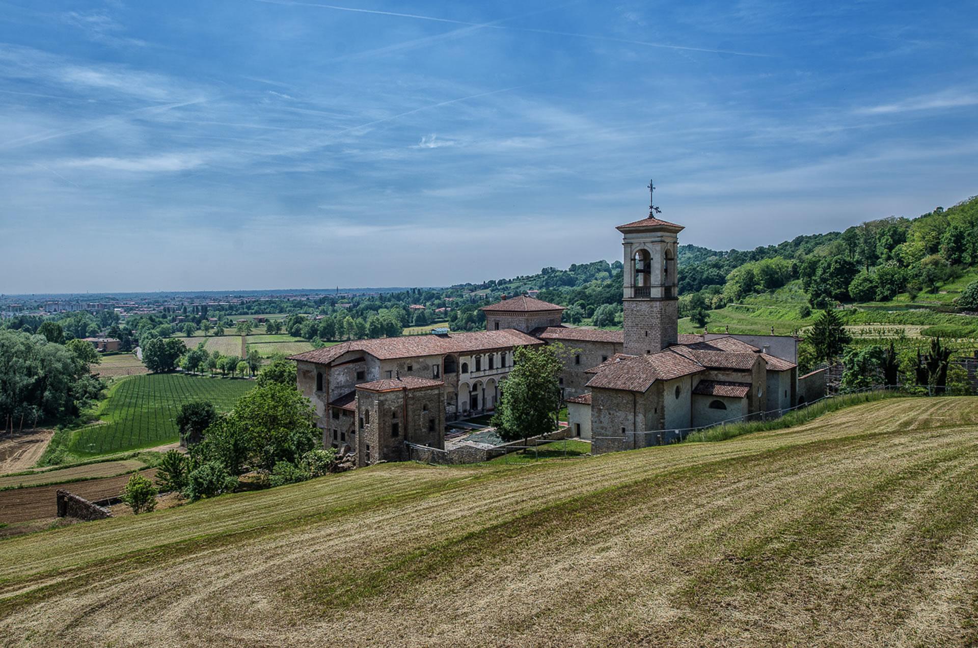 Cracco, Cannavacciuolo e i Cerea nel monastero di Astino