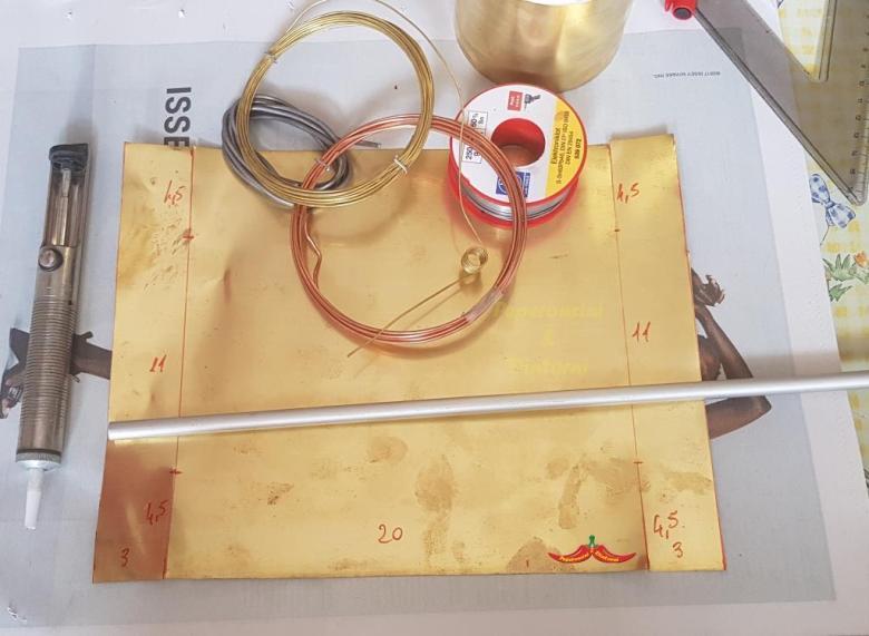 Triclinium, Triclinium, Triclinio materiale occorrente e misure
