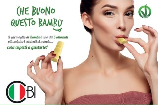 I germogli di bambù made in Italy debuttano al Cibus