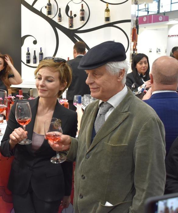 """Mondial du Rosé, il """"Rosato"""" di Michele Placido è sul podio"""