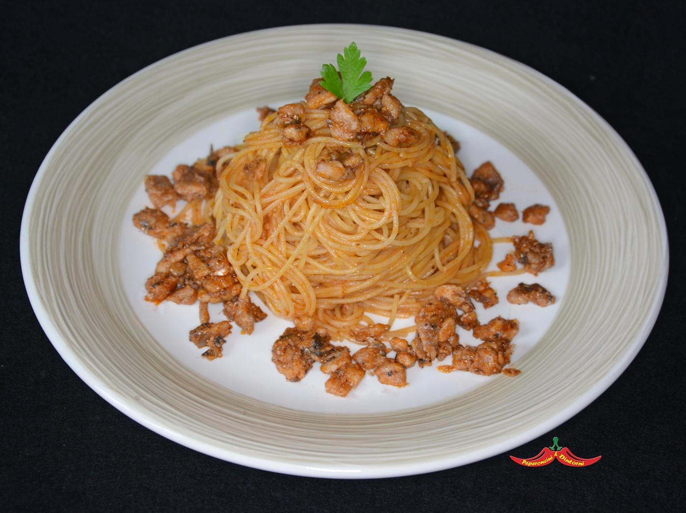 Spaghetti con Sardella