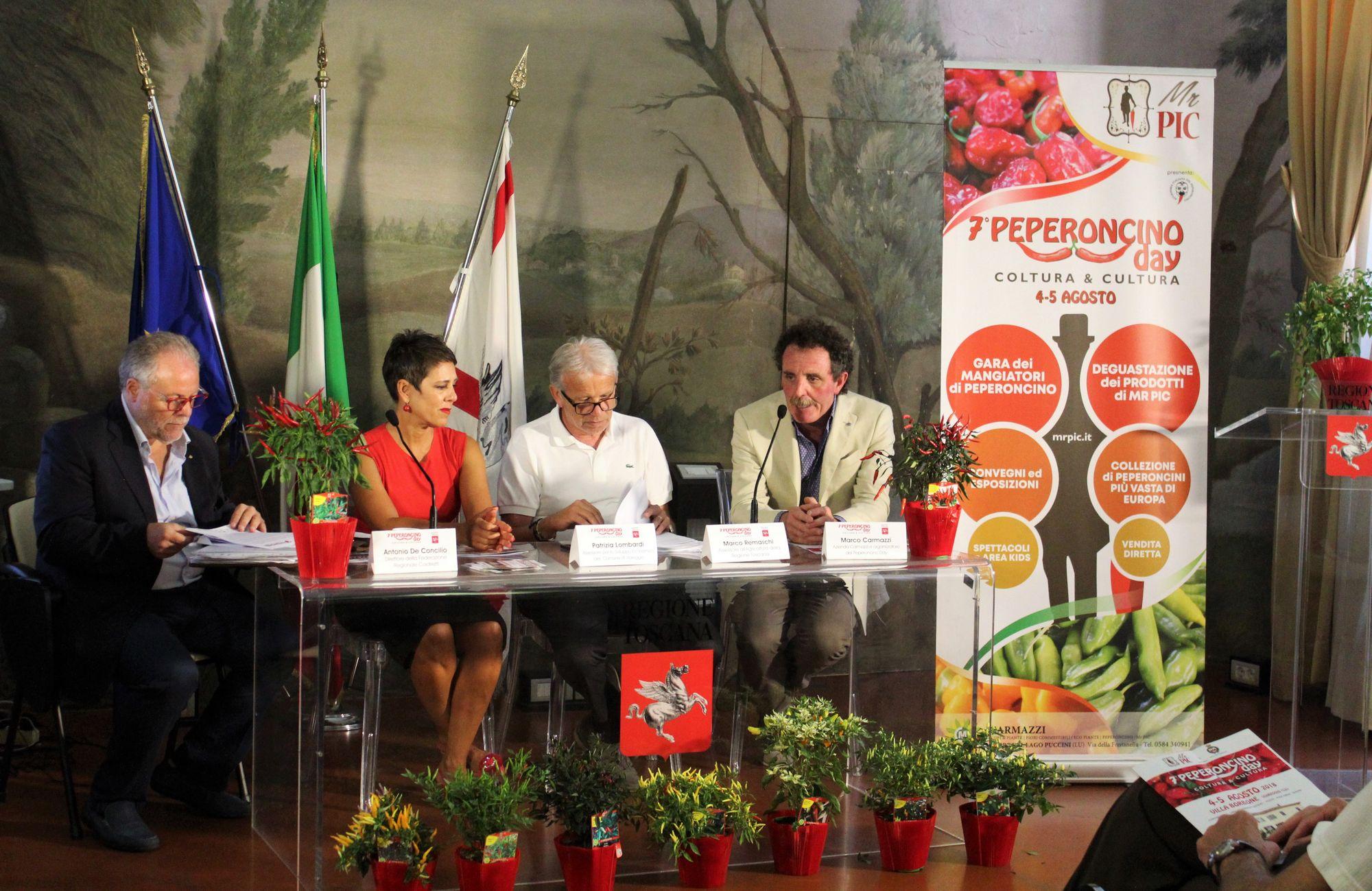 Presentata in Regione Toscana il 7° Peperoncino Day