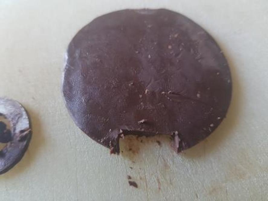 Disco di cioccolata