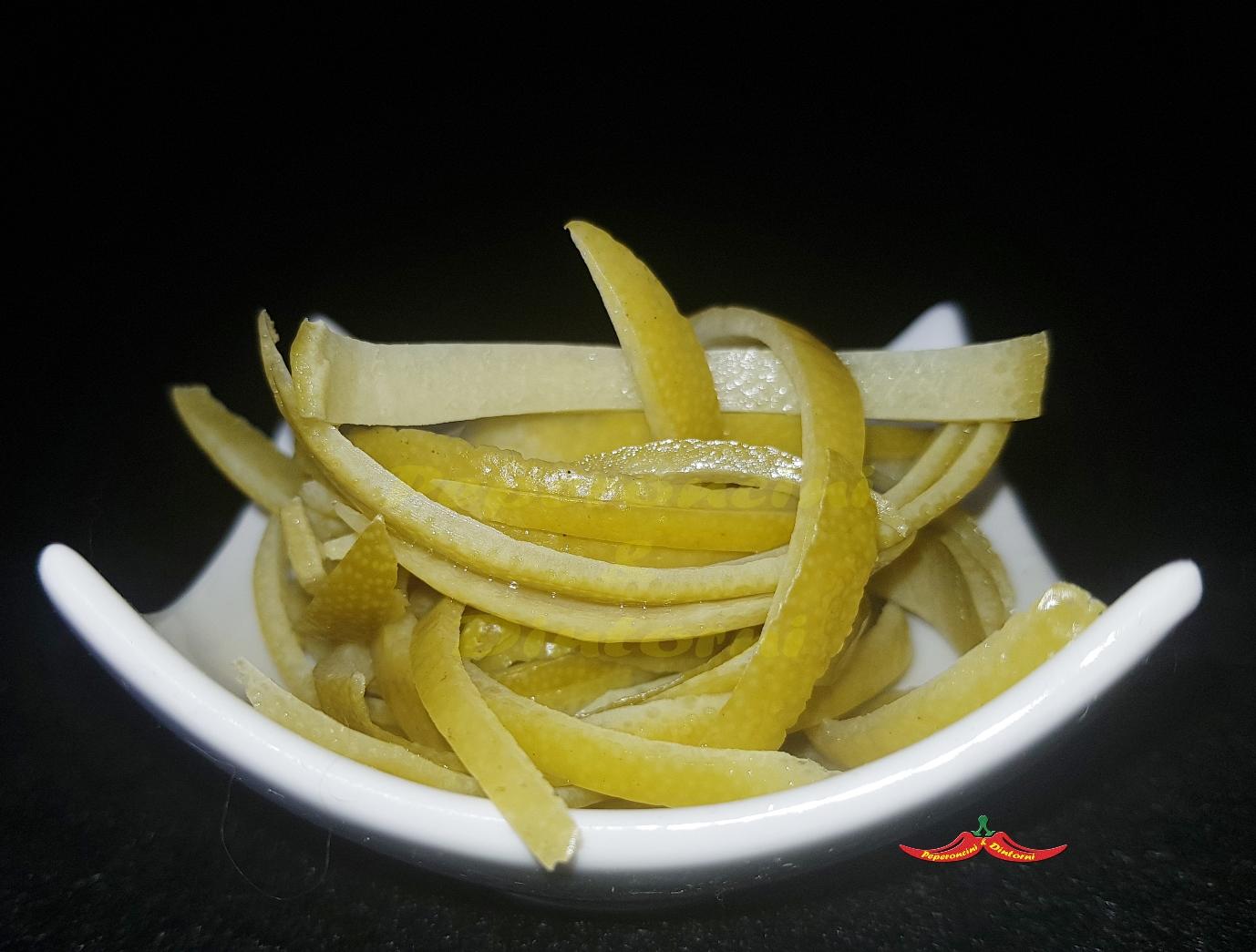 Fiammiferi di Zeste di Limoni Verdelli