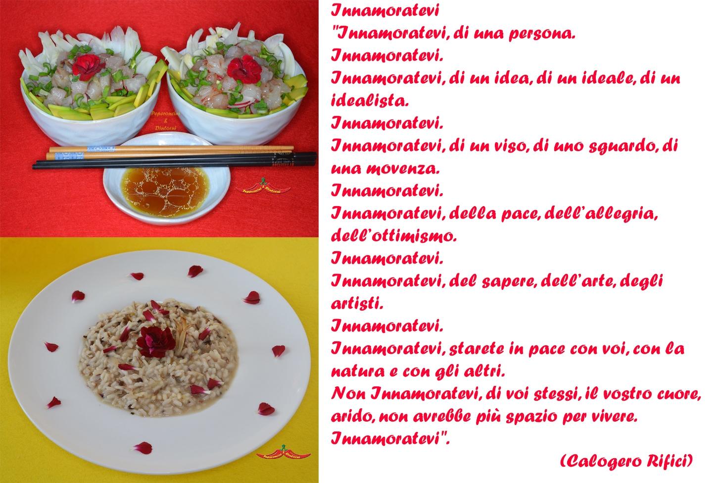 2 piatti e una Poesia per San Valentino