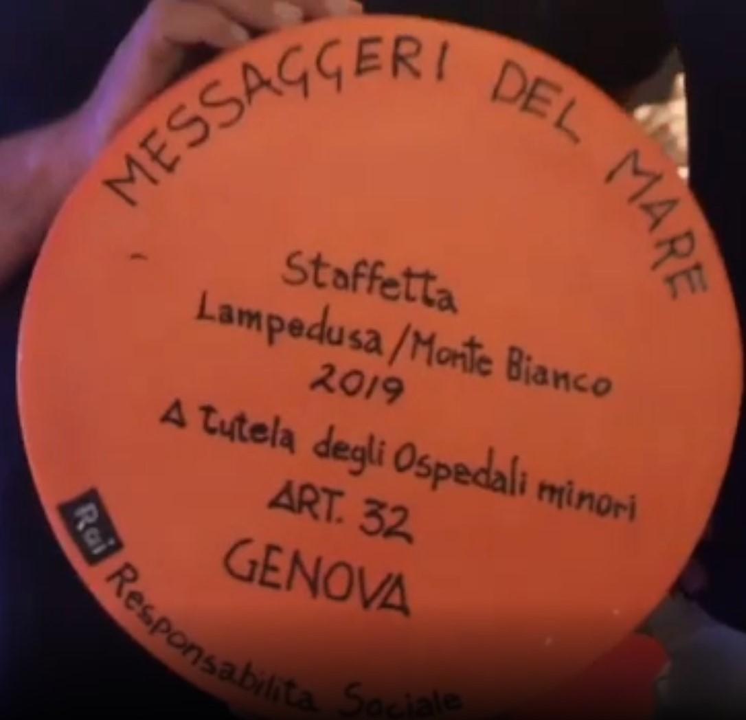 Parte da Genova la staffetta in difesa dei piccoli ospedali italiani