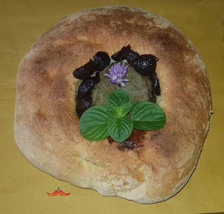 Cuddura Carciofoli e ova (ciambella Carciofi e uova)