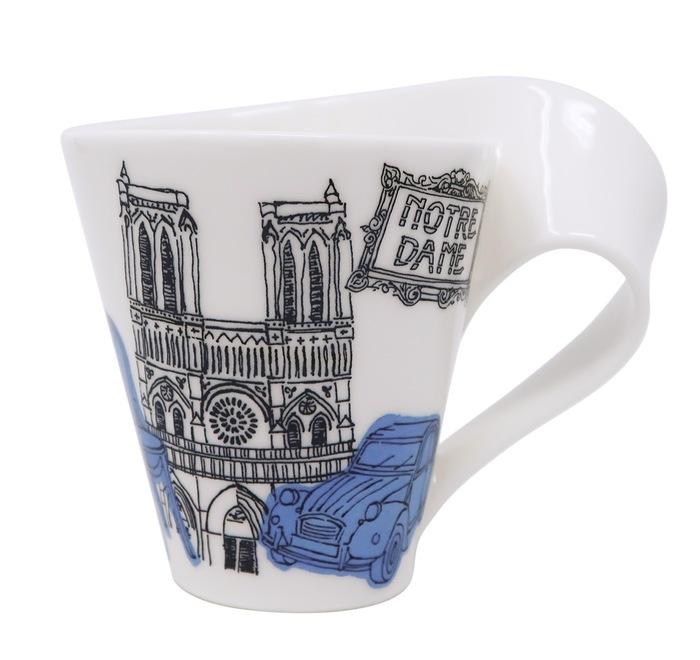 Una tazza d'autore per la ricostruzione di Notre-Dame