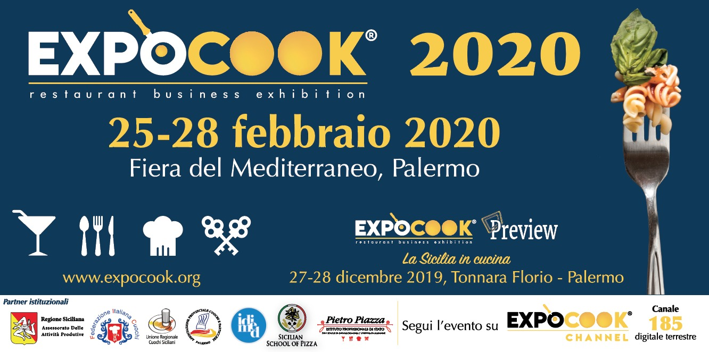 ExpoCook 2020 presentato al Teatro Massimo