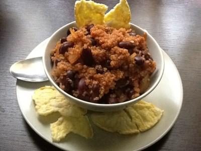Chili alla quinoa