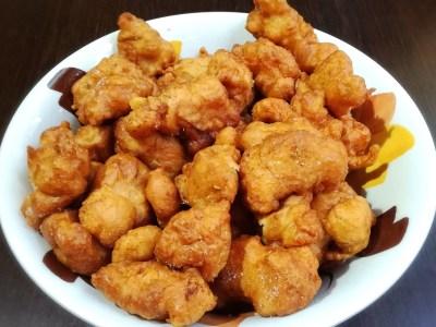 Bocconcini di pollo in pastella