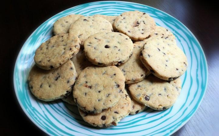 Cookies alle nocciole e cioccolato