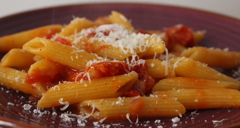 Pasta al pomodoro, one pot pasta