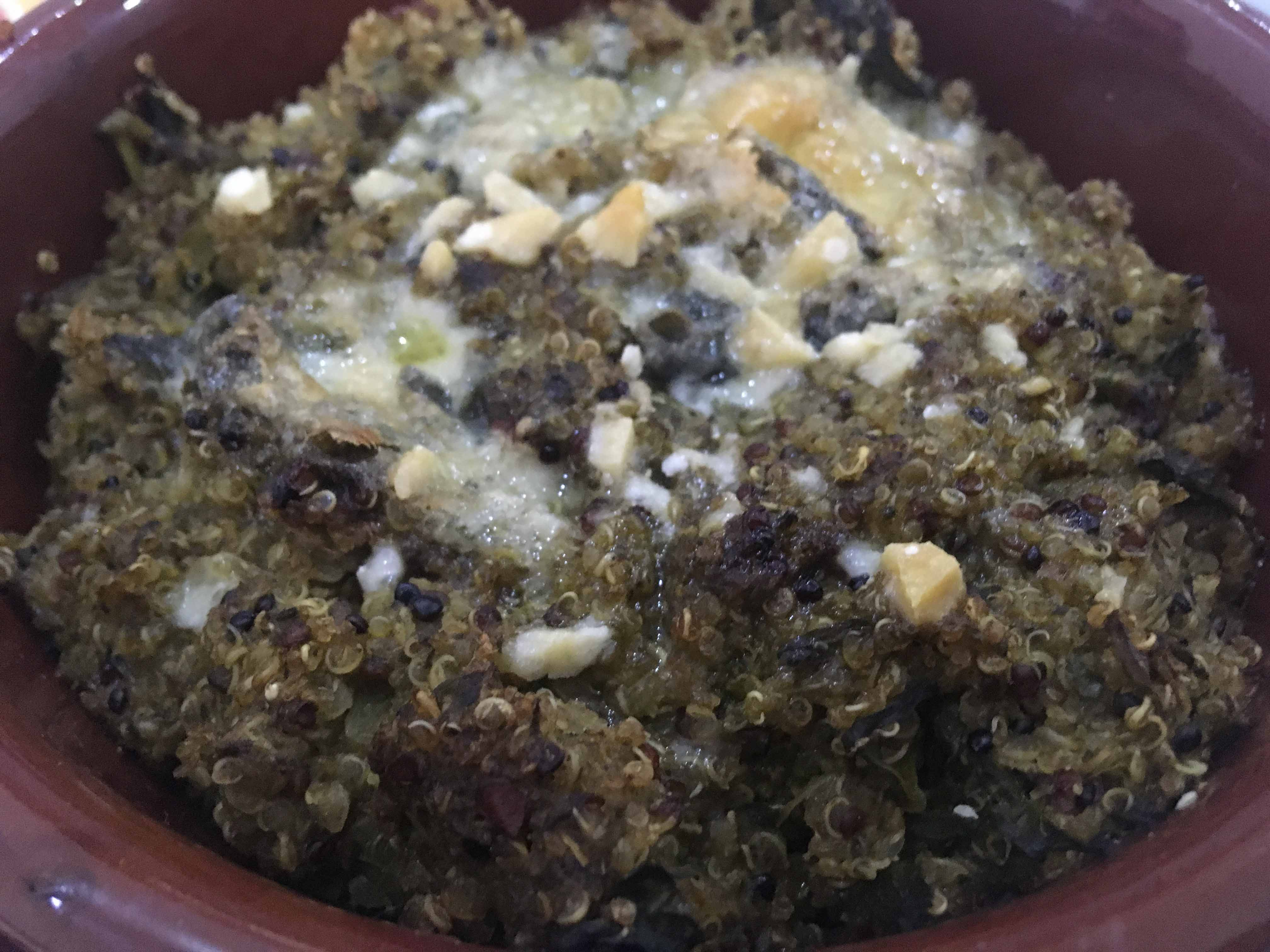 Tortino di quinoa e cime di rapaOriginally Posted on 10 April 2018 and reposted on 13 September 2020