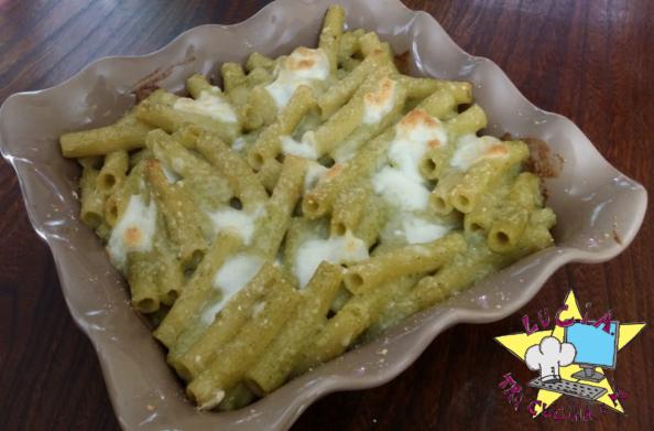 pasta al forno con vellutata di broccoli