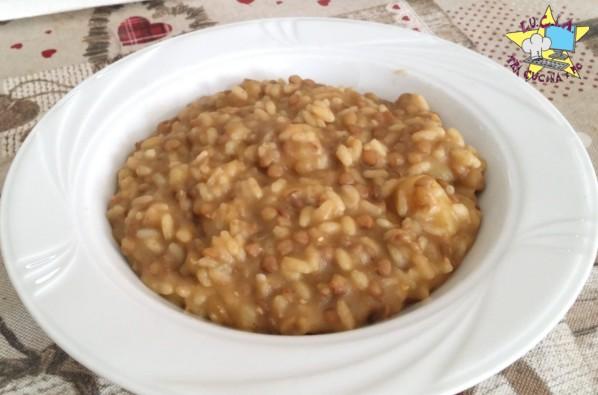 Riso e lenticchie – Ricetta Bimby