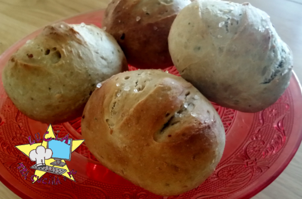 Pane al pesto home made -ricetta macchina del pane
