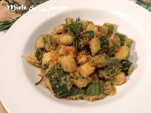 Zucchine croccanti al forno – ricetta facile e gustosa