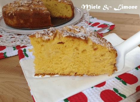 Torta di mele al mascarpone – ricetta golosa