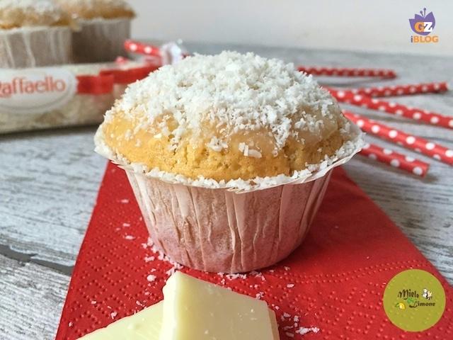Muffin Raffaello – ricetta facile e supergolosa