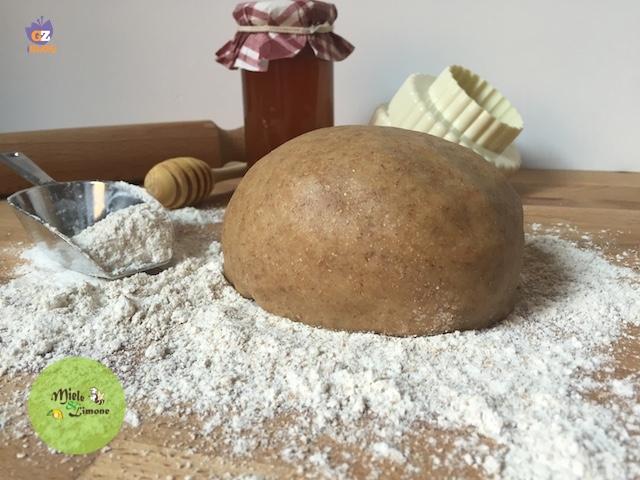 Pasta Frolla integrale al miele – ricetta base