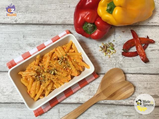 Pennette alla crema di peperoni – ricetta gustosa
