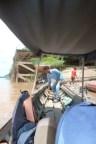 Bootsanleger zu den Delphinen