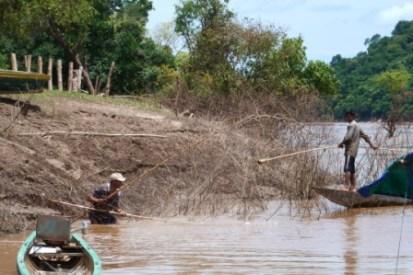 kambodschanische Fischer