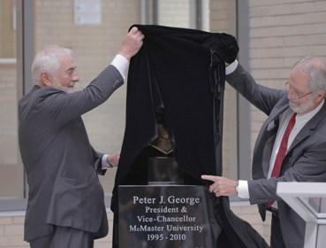 Peter Geoge Unveiling (1)