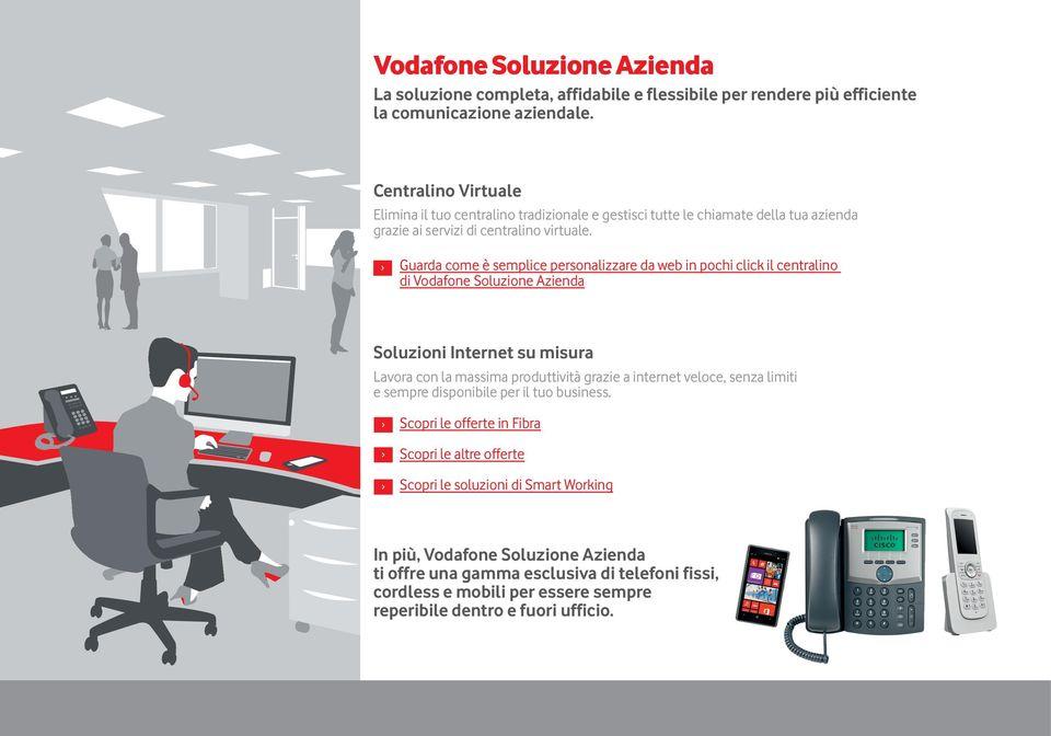soluzione azienda centralino Vodafone