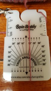 Spin buddy front view