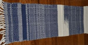 First multishaft weaving