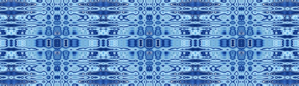 Blue ripple pattern