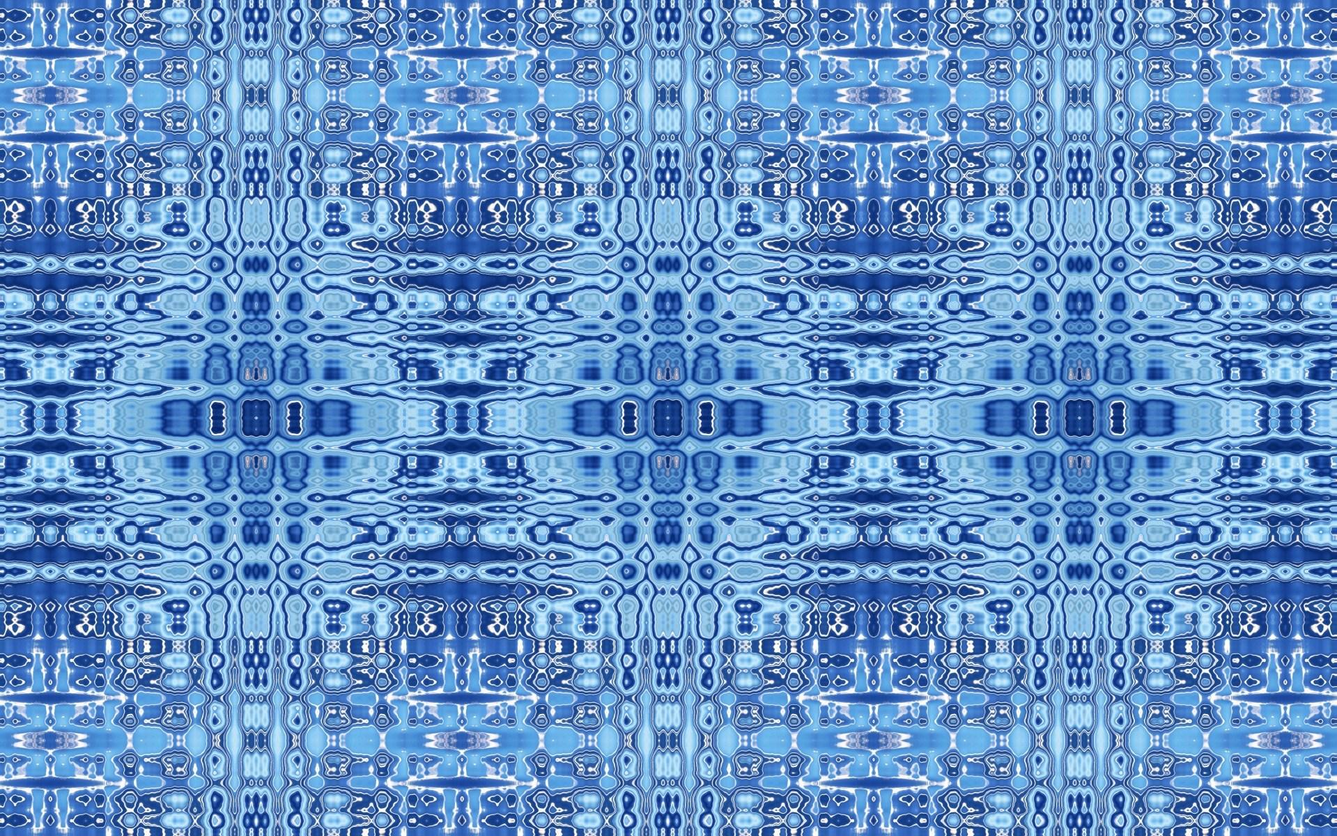 Blue ripple pattern