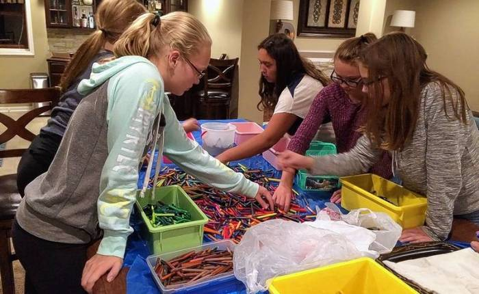 Lisle Girl Scouts Offer Free Ski Lessons for Those with Autism