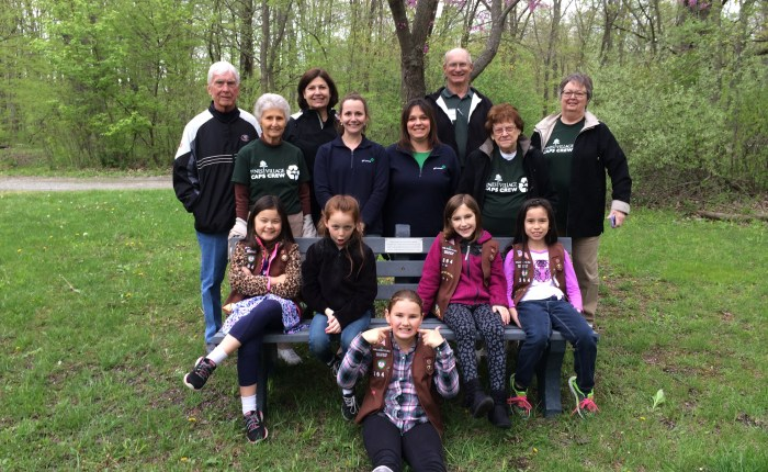 Valparaiso Girl Scouts 'Take Action' for Camp Butternut Springs