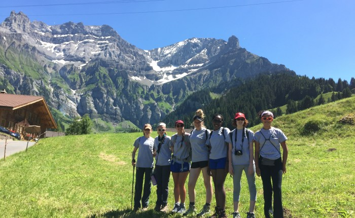 Girl Scouts Embark on a Swiss Adventure