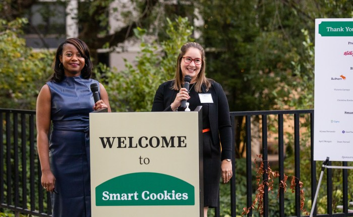 Looking back at the Smart Cookies Badge Bash