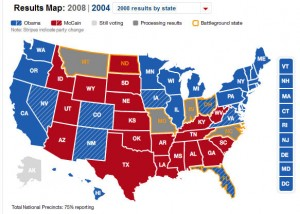The CNN election map as it shapes up