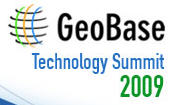 Geobase Technology Summit 2009