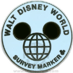 Disney World survey marker