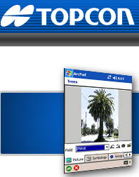 Topcon field tools for ArcPad