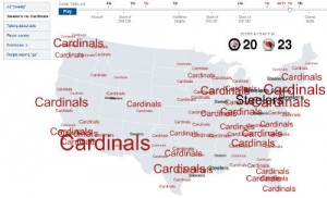 New York Times Twitter Map