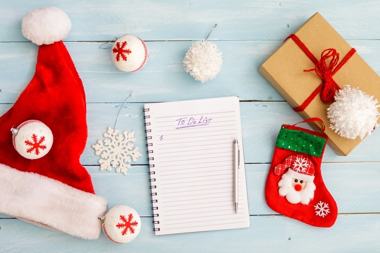6 Days before Christmas, 6 Things to take care of