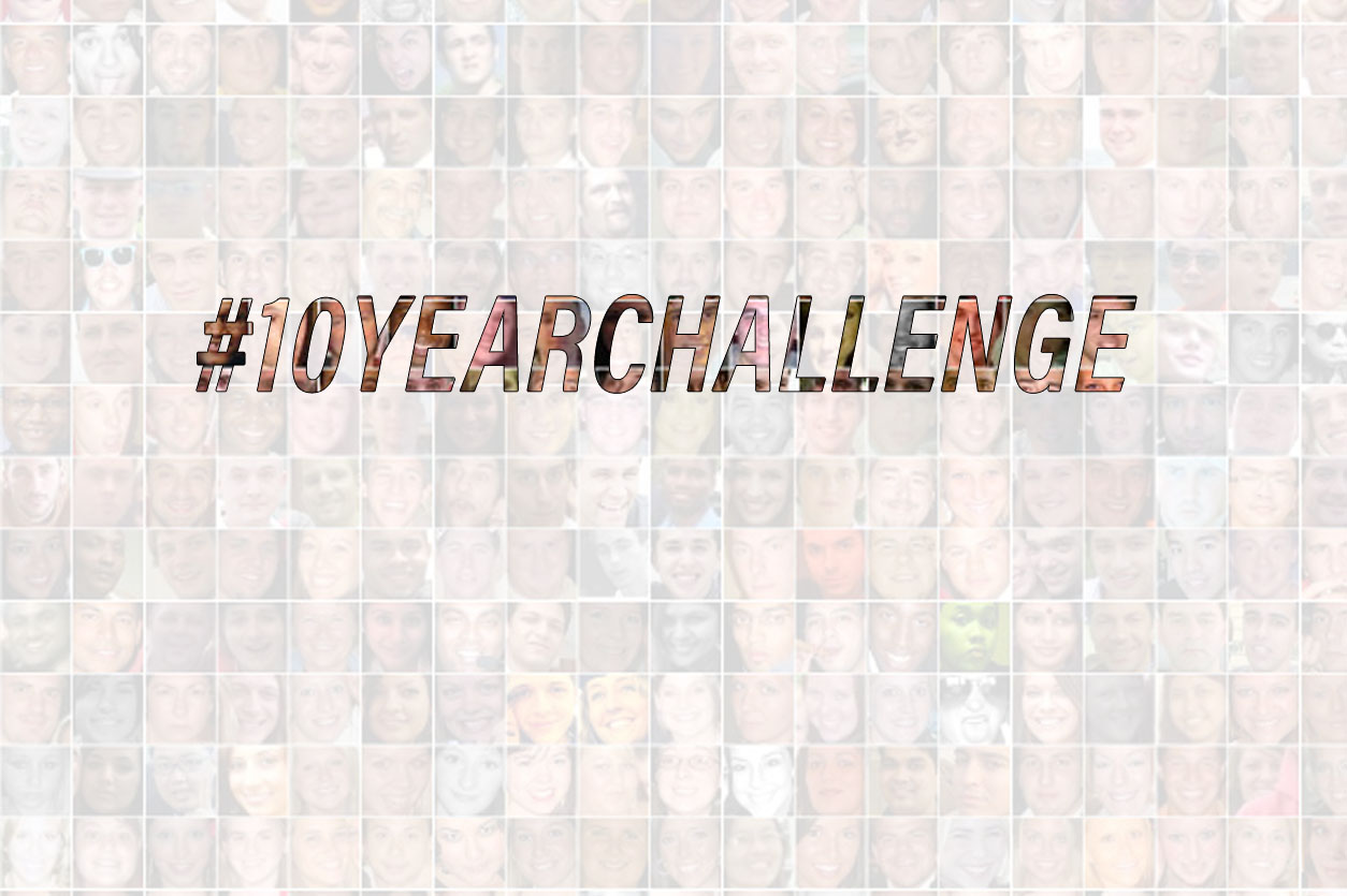 How brands embraced 10-year challenge for the better cause